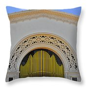 Spreckles Organ San Diego Throw Pillow