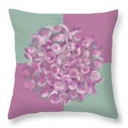 Spreeze Rose Throw Pillow