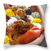 Sprice Mix Throw Pillow