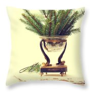 Sprigs Of Pine Throw Pillow