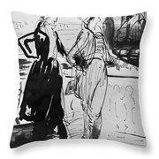 Sprinchorn Women, 1914 Throw Pillow