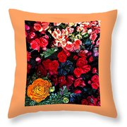 Spring . Throw Pillow