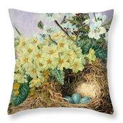 Spring, 1879 Throw Pillow