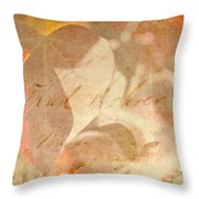 Spring Afternoon Sunlight Throw Pillow