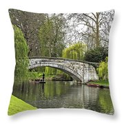 Spring And The River Cam Throw Pillow
