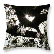 Spring As Promised Throw Pillow