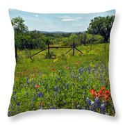Spring At It's Finest  Throw Pillow