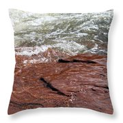 Spring At Sedona In Spring Throw Pillow