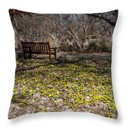 Spring Beal Throw Pillow