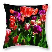 Spring Blossom 5 Throw Pillow