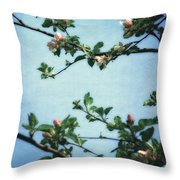 Spring Blossoms 2.0 Throw Pillow