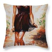 Spring Breeze 04 Throw Pillow