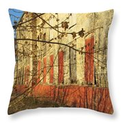 Spring Buds And Urban Decay 3 Throw Pillow