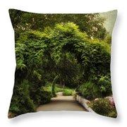 Spring Canopy Throw Pillow