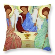 Spring Celebration Throw Pillow