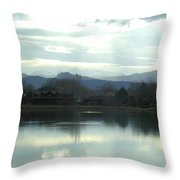 Spring Chill Throw Pillow
