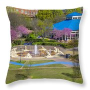 Spring Coolidge Park 2 Throw Pillow