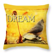 Spring Dreams Throw Pillow