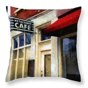 Spring Evening In Amherst Throw Pillow