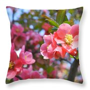 Spring Everywhere Throw Pillow