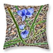 Spring Flowers 3 Throw Pillow