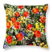 Spring Flowers No. 2 Throw Pillow