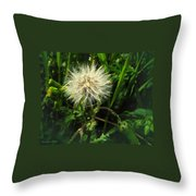 Spring Forest Embellishments 2 Throw Pillow
