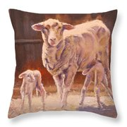 Spring Gifts Throw Pillow