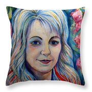 Spring Girls. Part Two Throw Pillow