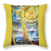 Spring Glory Throw Pillow