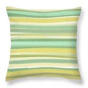 Spring Green Throw Pillow by Lourry Legarde