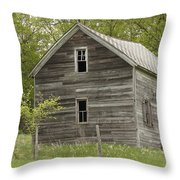 Spring Has Arrived At Captain Ed's Throw Pillow