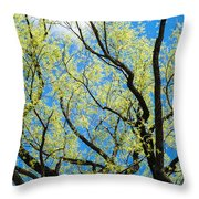 Spring Has Come - Featured 3 Throw Pillow