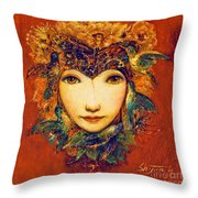 Spring II Throw Pillow by Shijun Munns