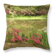 Spring Impression Throw Pillow