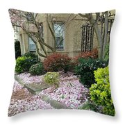 Spring In Capitol Hill Throw Pillow