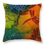 Spring In Full Effect Throw Pillow
