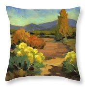 Spring In Santa Fe Throw Pillow