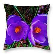Spring Is Blooming Throw Pillow