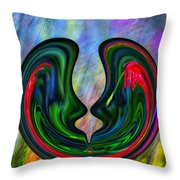 Spring Lovers Throw Pillow