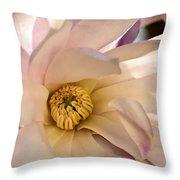 Spring Magnolia Throw Pillow