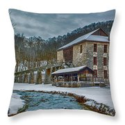 Spring Mill  Throw Pillow