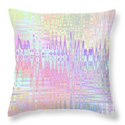 Spring Mirage Throw Pillow