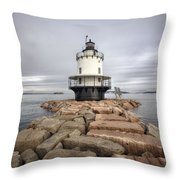 Spring Point Ledge Throw Pillow