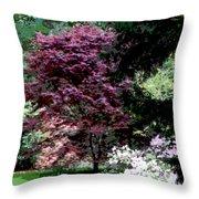 Spring Retreat Throw Pillow