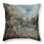 Spring Roe Deer Throw Pillow