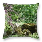Spring Sanctuary Throw Pillow