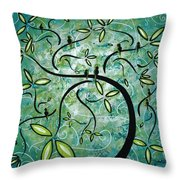 Spring Shine By Madart Throw Pillow