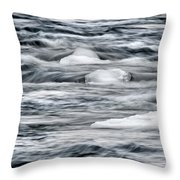 Spring Thaw Throw Pillow