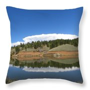 Ridge Over Burgess Res Divide Co Throw Pillow